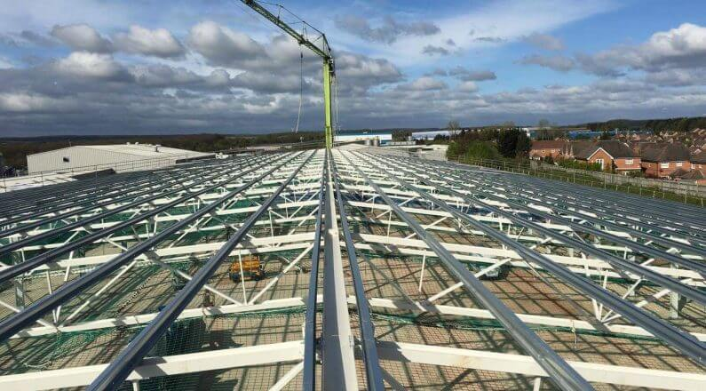 Steelwork Design & Build   Roof Cladding Manchester   Clad-It