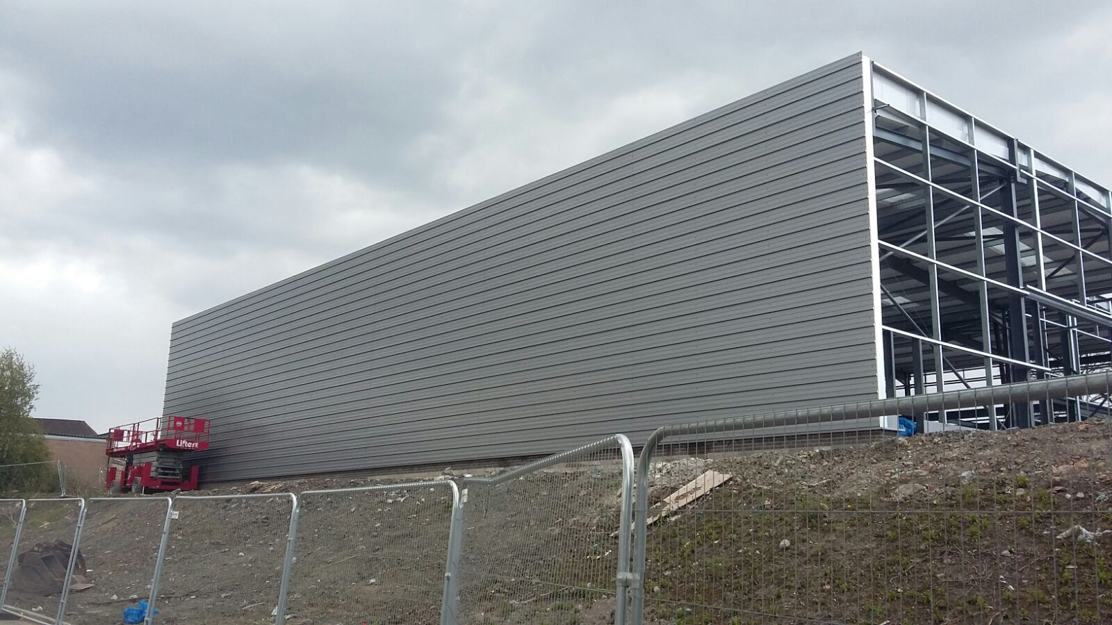 Clad it commercial industrial roofing cladding contractors
